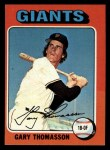 1975 Topps Mini #529  Gary Thomasson  Front Thumbnail