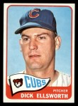 1965 Topps #165  Dick Ellsworth  Front Thumbnail