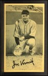 1937 Goudey Wide Pen KNL Joe Vosmik   Front Thumbnail