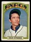 1972 Topps #743  Cesar Gutierrez  Front Thumbnail