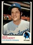1973 Topps #239  Pete Richert  Front Thumbnail