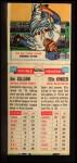 1955 Topps DoubleHeader #129 / 130 -  Jim Gilliam / Ellis Kinder  Back Thumbnail