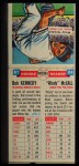 1955 Topps DoubleHeader #87 / 88 -  Bob Kennedy / Windy McCall  Back Thumbnail