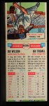 1955 Topps DoubleHeader #101 / 102 -  Bill Wilson / Bill Tremel  Back Thumbnail