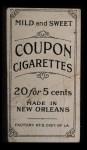 1914 Coupon T213 #113 II Birdie Cree   Back Thumbnail