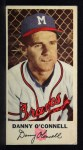 1954 Johnston Cookies #4  Danny O'Connell   Front Thumbnail