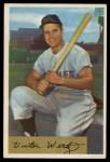 1954 Bowman #21  Vic Wertz  Front Thumbnail