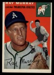 1954 Topps #49 WHT Ray Murray  Front Thumbnail
