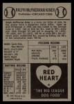 1954 Red Heart  Ralph Kiner  Back Thumbnail