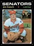 1971 Topps #399  Jim French  Front Thumbnail