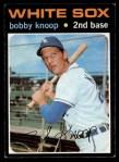 1971 Topps #506  Bobby Knoop  Front Thumbnail