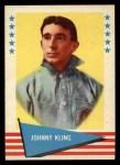 1961 Fleer #52  Johnny Kling  Front Thumbnail