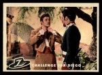 1958 Topps Zorro #22   Challenge For Diego Front Thumbnail