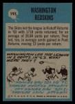 1964 Philadelphia #195   Redskins Team Back Thumbnail