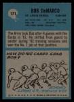 1964 Philadelphia #171  Bob DeMarco  Back Thumbnail