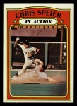 1972 Topps #166   -  Chris Speier In Action Front Thumbnail