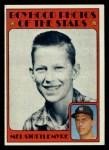 1972 Topps #492   -  Mel Stottlemyre Boyhood Photo Front Thumbnail