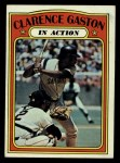 1972 Topps #432   -  Cito Gaston In Action Front Thumbnail