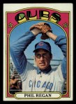 1972 Topps #485  Phil Regan  Front Thumbnail