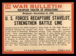 1965 Philadelphia War Bulletin #56   House to House Back Thumbnail