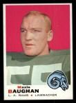 1969 Topps #169  Maxie Baughan  Front Thumbnail
