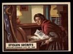 1962 Topps Civil War News #50   Stolen Secrets Front Thumbnail