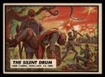 1962 Topps Civil War News #55   The Silent Drum Front Thumbnail
