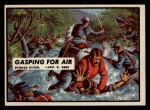 1962 Topps Civil War News #35   Gasping for Air Front Thumbnail