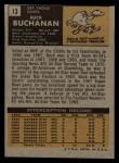 1971 Topps #13  Buck Buchanan  Back Thumbnail