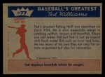 1959 Fleer #77   -  Ted Williams Ted Relaxes Back Thumbnail