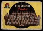 1959 Topps #528   Pirates Team Checklist Front Thumbnail