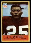 1967 Philadelphia #191  A.D. Whitfield  Front Thumbnail