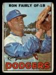 1967 Topps #94 xDOT Ron Fairly  Front Thumbnail
