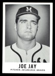 1960 Leaf #23 SML Joey Jay  Front Thumbnail