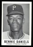 1960 Leaf #7  Benjamin Daniels  Front Thumbnail
