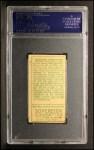 1911 T205  Rube Marquard  Back Thumbnail
