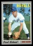1970 Topps #338  Paul Schaal  Front Thumbnail