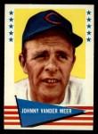 1961 Fleer #147  Johnny Vander Meer  Front Thumbnail