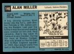 1964 Topps #146  Alan Miller  Back Thumbnail