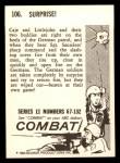 1964 Donruss Combat #106   Surprise Back Thumbnail