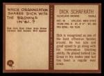 1967 Philadelphia #45  Dick Schafrath  Back Thumbnail