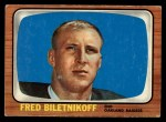 1966 Topps #104  Fred Bilentnikoff  Front Thumbnail