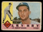 1960 Topps #105  Larry Sherry  Front Thumbnail
