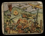 1938 Gum Inc. Horrors of War #24   Italian Squadrons Flying Low Slaughter Ethiopians Front Thumbnail