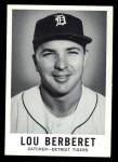 1960 Leaf #24  Lou Berberet  Front Thumbnail