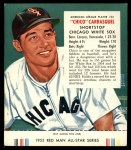 1955 Red Man #23 AL Chico Carrasquel  Front Thumbnail