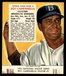 1953 Red Man #5 NL Roy Campanella  Front Thumbnail