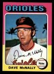 1975 Topps Mini #26  Dave McNally  Front Thumbnail