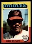 1975 Topps Mini #382  Don Baylor  Front Thumbnail