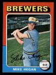 1975 Topps Mini #99  Mike Hegan  Front Thumbnail